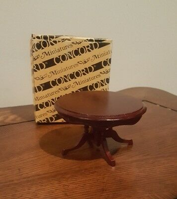 Miniature Dollhouse Furniture Concord Round Table