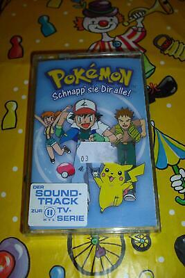 Pokémon Kassette MC Der Soundtrack zur TV-Serie RTL2 Manga Kinderlieder Pokemon