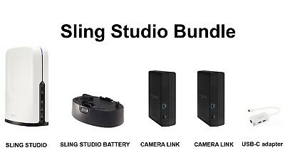 SlingStudio Bundle 4 dev.*see picture - Authorized reseller - Ships from Miami
