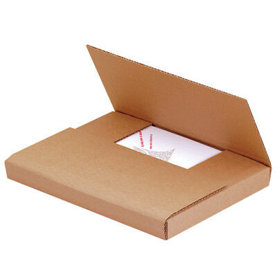 "Box Partners Easy-Fold Mailers 11 3/4"" x 10 1/2"" x 2 1/2"" Kraft 50/Bundle"
