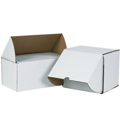 "Box Partners Outside Tuck Mailers 7 5/8"" x 6"" x 5 7/16"" White 25/Bundle MEZ765"