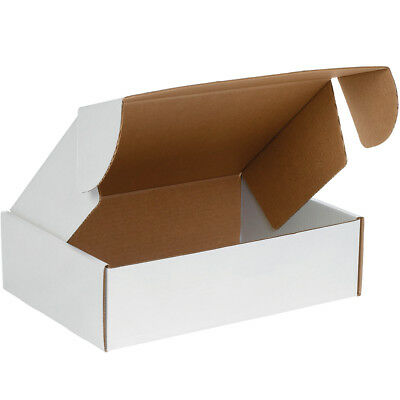 "Box Partners Deluxe Literature Mailers 13"" x 10"" x 4"" White 50/Bundle MFL13104"