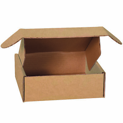 "Box Partners Deluxe Literature Mailers 12"" x 12"" x 4"" Kraft 50/Bundle MFL12124K"