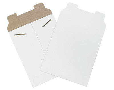 "Box Partners Flat Mailers 7"" x 9"" White 100/Case RM10W"