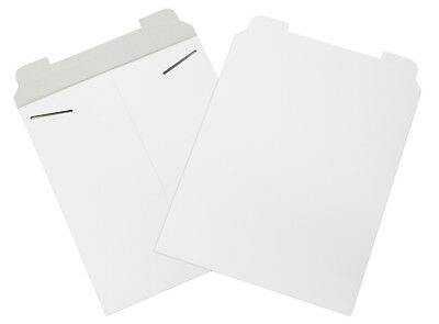 """Box Partners Flat Mailers 12-3/4"""" x 15"""" White 100/Case RM4W"""