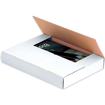 "Box Partners Easy-Fold Mailers 24"" x 24"" x 2"" White 20/Bundle M24242BF"