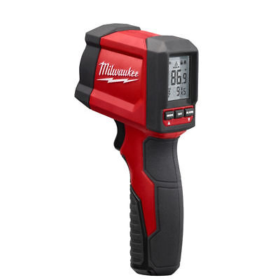 (New) Milwaukee 10:1 Infrared Thermometer LCD Display Temperature Gun 2267-20