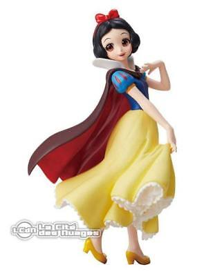 Disney Characters Crystalux Snow White Blanche Neige PVC Statue 14cm BANPRESTO