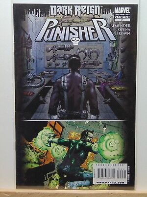 Punisher #2 2nd Print Variant Edition Dark Reign Marvel Comics CB3294