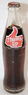 THUMS UP Flasche 0,25 Liter voll ACL bottle INDIA Sahibabad The Bigger Refresher