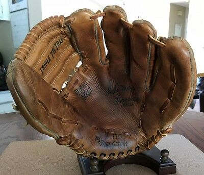 Willie Mays Macgregor Usa Made Personal Model Very Hard Factory Number