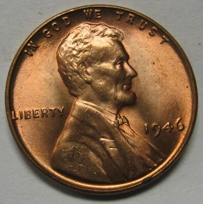1946 Lincoln Wheat Cent in the CH BU Range Nice Coins DUTCH AUCTION