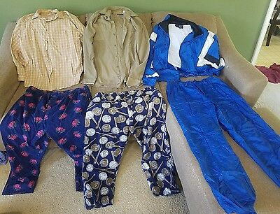 Mens clothes size Xlarge mixed lot of 6 (ti72)