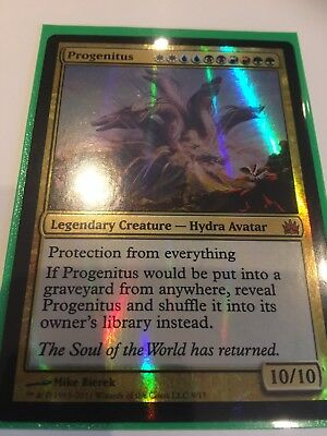Progenitus FOIL - Magic The Gathering - From the Vault Legends - Mythic
