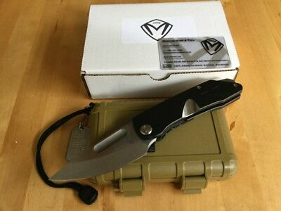 Medford Knife and Tool – General – Tumbled / PVD – S35VN – Taschenmesser