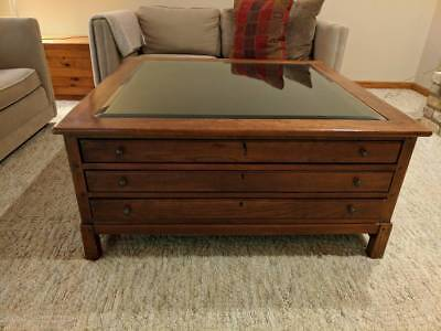 Outstanding Bob Timberlake Lexington Furniture Map Display Coffee Table Evergreenethics Interior Chair Design Evergreenethicsorg