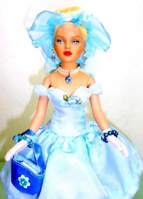 """Blue Skies Smiling Tiny Kitty Collier Tonner 10"""" Doll in Ms. Dee Outfit w/Box"""
