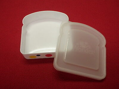 Wonder Bread Sandwich Container By Hostess Plastic GREAT CONDITION
