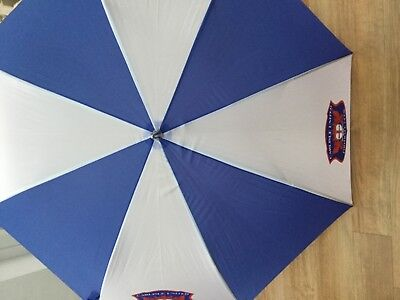 Carlisle United football club large umbrella - New 48inch