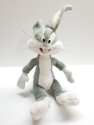 Looney Tunes Bugs Bunny Plush Toy Stuffed Animal 1997 Play by Play