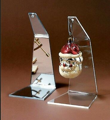 "1 Ornament Display Stand Holder 5-1/2"" Hanger for Christmas Ornaments"