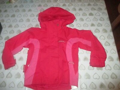 Girls Pink Mountain Warehouse Rain Coat Waterproof Jacket Age 2 3 Years