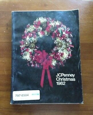 1982 JCPenney JC Penney Christmas Catalog Watches Toys Jewelry Hi-Fi Games More