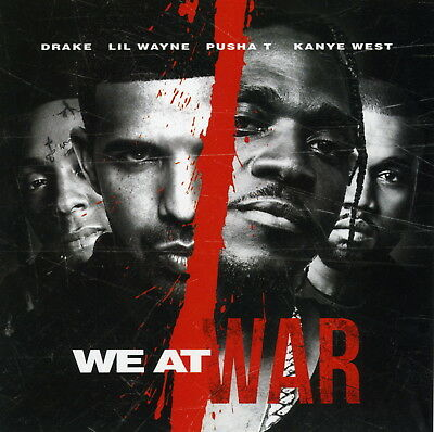 DRAKE PUSHA T WE AT WAR (Mixtape) CD Rap PA Trap Hip Hop Various Artist