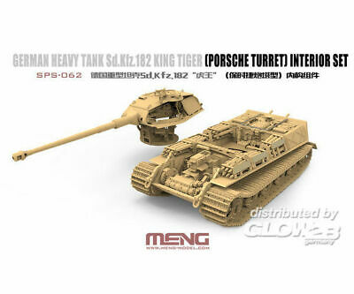 MENG-Model SPS-062 German Heavy Tank Sd.Kfz.182 King Tiger (Porsche Turret) Inte