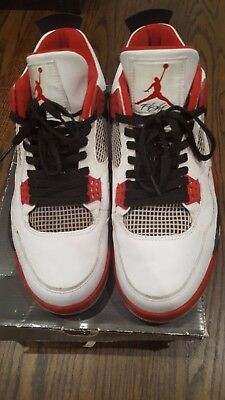e1349894ecd2af NIKE AIR JORDAN IV Mars (2006) Size 10.5 Blackmon Spike Lee 4 OG red ...