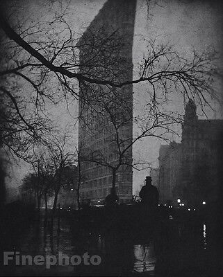 1905/63 Vintage FLATIRON BUILDING Architecture New York By EDWARD STEICHEN 11x14