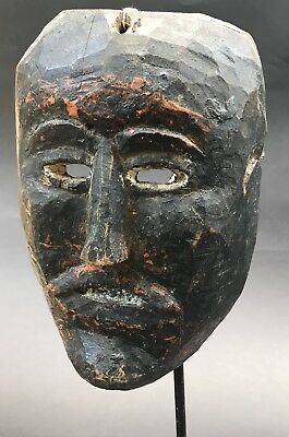 Nepal Carved Wooden Mask