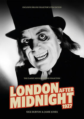 London After Midnight 1927 Lon Chaney MGM horror movie magazine