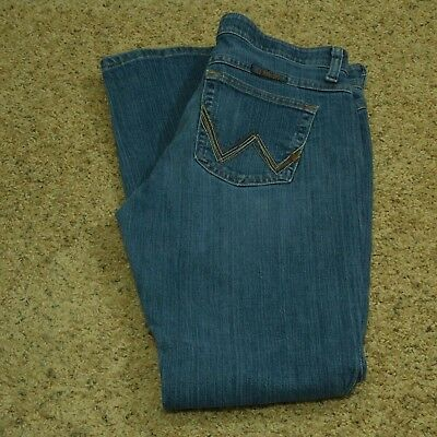 f4817f42 WOMEN'S WRANGLER Q-BABY Mid Rise Stretch Jeans WRQ20AP Apache Storm ...