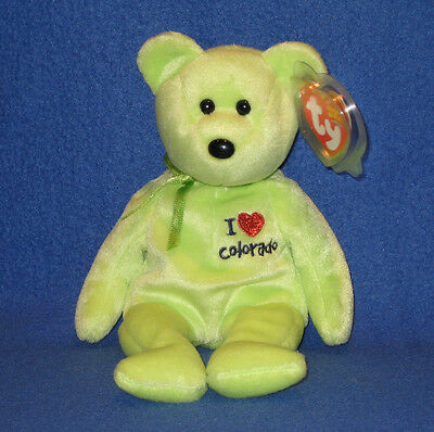 6f48dc8df0b TY I LOVE BOSTON BEANIE BABY - STATE EXCLUSIVE - MINT with MINT TAG ...