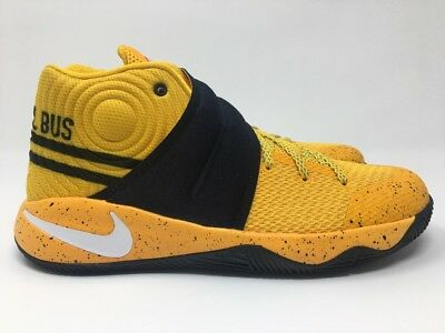 "reputable site 927e2 9effc NIKE KYRIE 2 Grade School Shoes 826673-700 ""Back to School Bus"" Size 6.5"