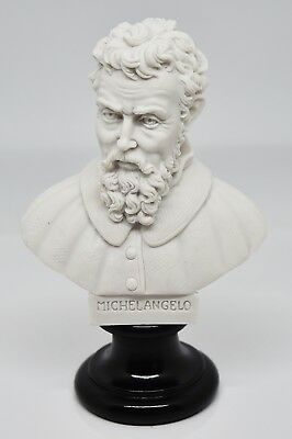 NEW Busto di Michelangelo Buonarroti - Bust of Michelangelo (Made in Italy) Nat