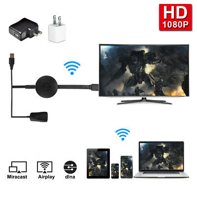 MiraScreen WiFi Display TV Dongle Miracast Airplay HD HDMI Plug Receiver AH334