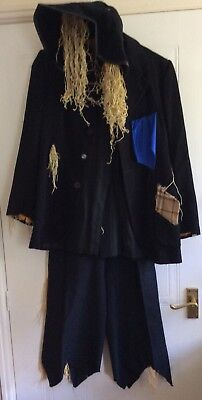 Handmade Scarecrow Costume Ideal For Stage, Theatre, Panto, Fancy Dress Etc.
