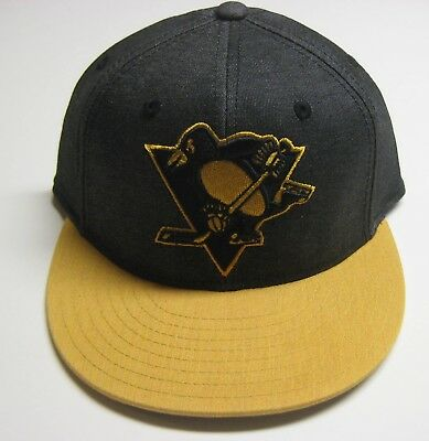 e43ea42ad42 PITTSBURGH PENGUINS CCM Flexfit Hat S M Olive -  12.00