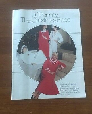 1980 JCPENNEY JC Penney The Christmas Place Catalog Perfume Bikes Stereos  More