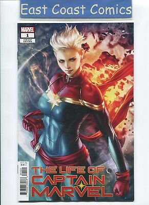 Life Of Captain Marvel #1 (Of 5) Artgerm Variant - Marvel  Release Date 18/07/18