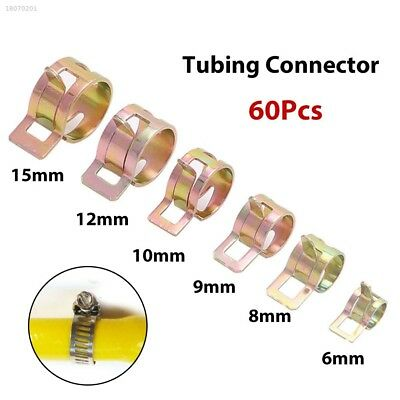 65mn Clamps Tube 6-15mm Car Auto Spring Clip 60Pcs 6 Sizes 6D0F04A