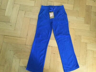 NWT Juicy Couture New & Genuine Girls Age 6 Blue Cotton Terry Towelling Pants