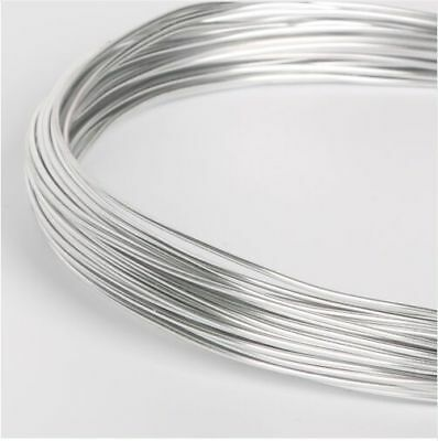 5m Aluminum Metal Wire DIY Jewelry Floristry Findings Craft Making 1/1.5/2mm