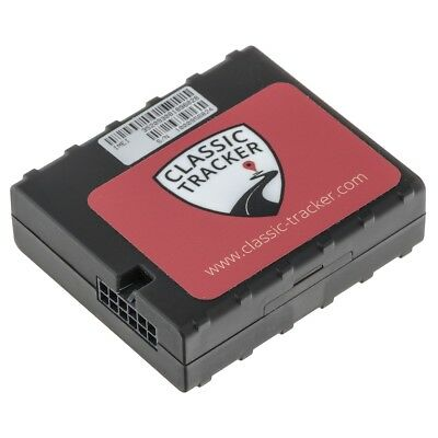 Tracker + Immobiliser for classic cars + motorcycles three-wire self-install