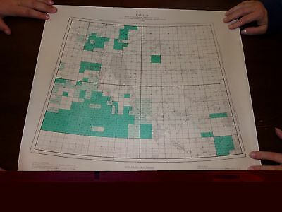 1964 Carte Index No.3 Canada Mines and Technical Survey Map M