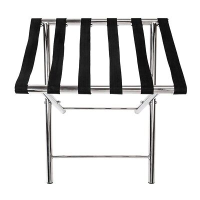 Portable Stainless Steel Travel Luggage Rack Carrier Suit Case Stand 50*40*50cm