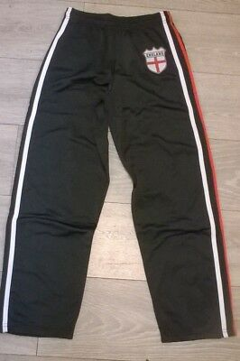 boys or girls jogging pants ENGLAND BLACK NEW, Age 8 9 10