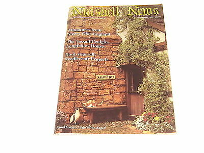 #2367 1988 September  Nutshell News Minatures Magazine For Creators & Collectors